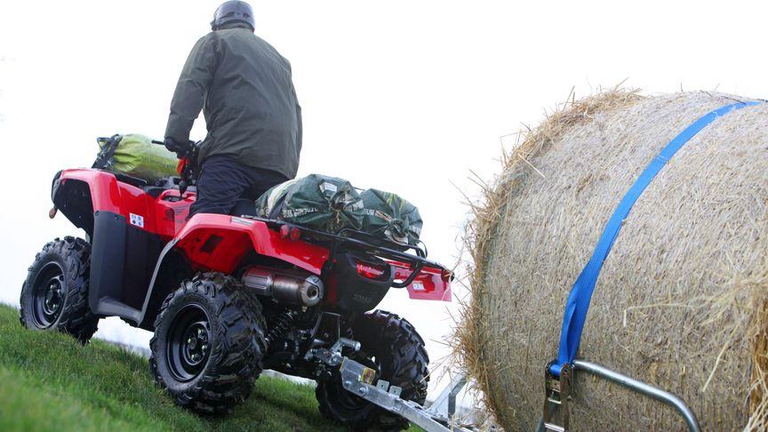 TRX500 Foreman | Heavy Load ATVs | Honda UK
