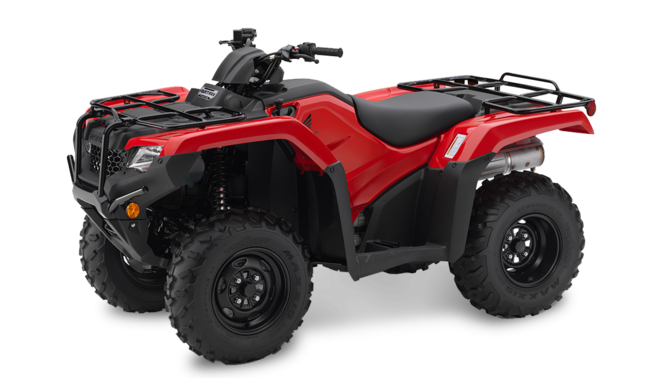 Front facing Fourtrax 420.