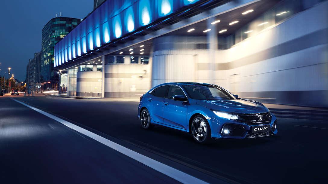 New Honda Civic Vtec 2017 5 Door Hatchback Honda Uk