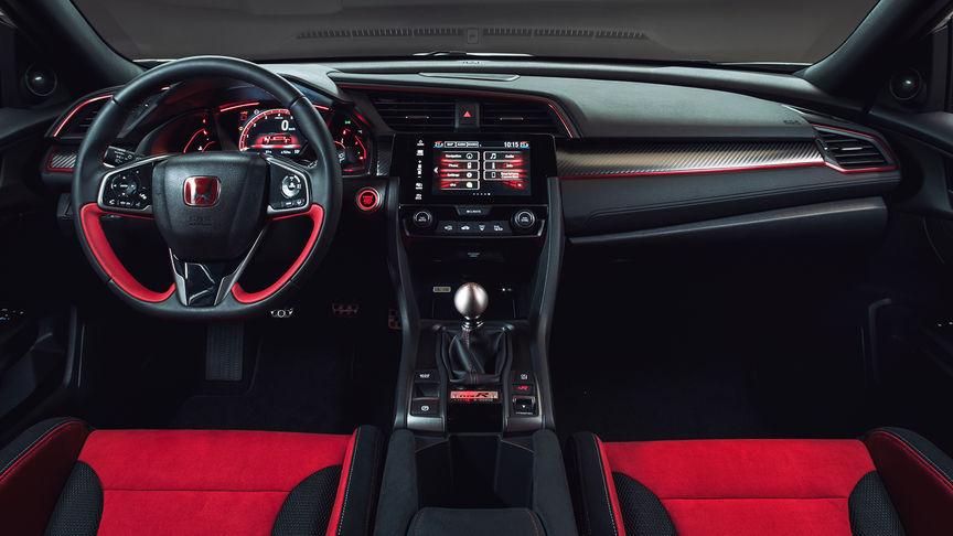 Civic Type R Design Car Aerodynamics Interior Honda Uk