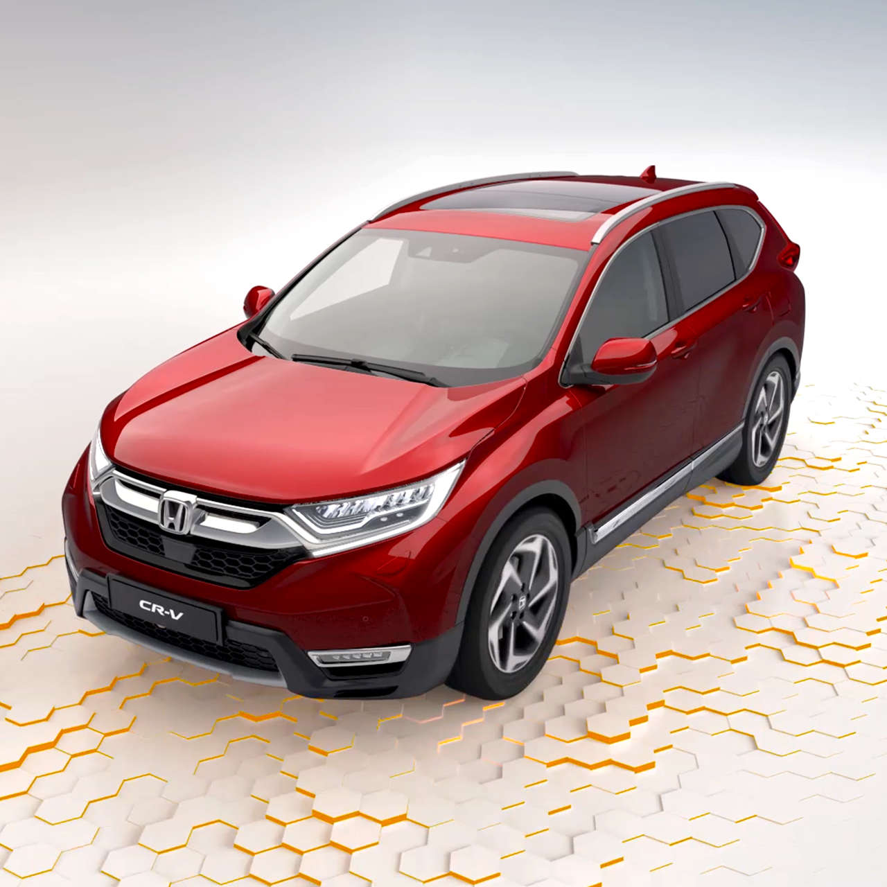 All New Cr V The Redesigned 4x4 Suv Honda Uk