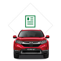 Honda CR-V brochure illustration.