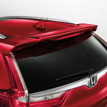 Close up view of Honda CR-V tailgate.