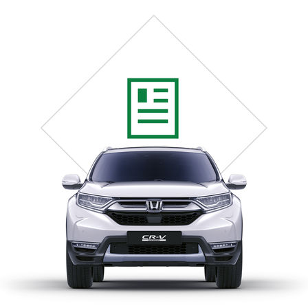 Honda CR-V Hybrid brochure icon.