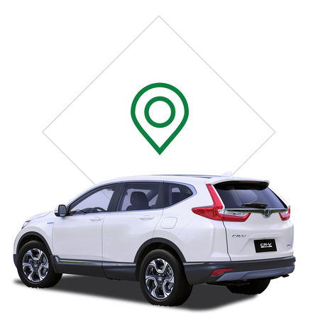 Honda CR-V Hybrid dealer icon.