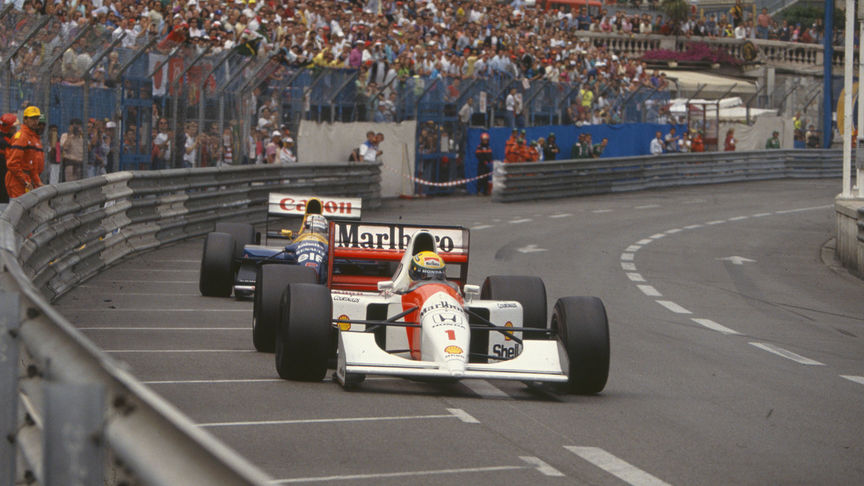 Gerhard Berger's win for McLaren-Honda at the 1992 Australian GP