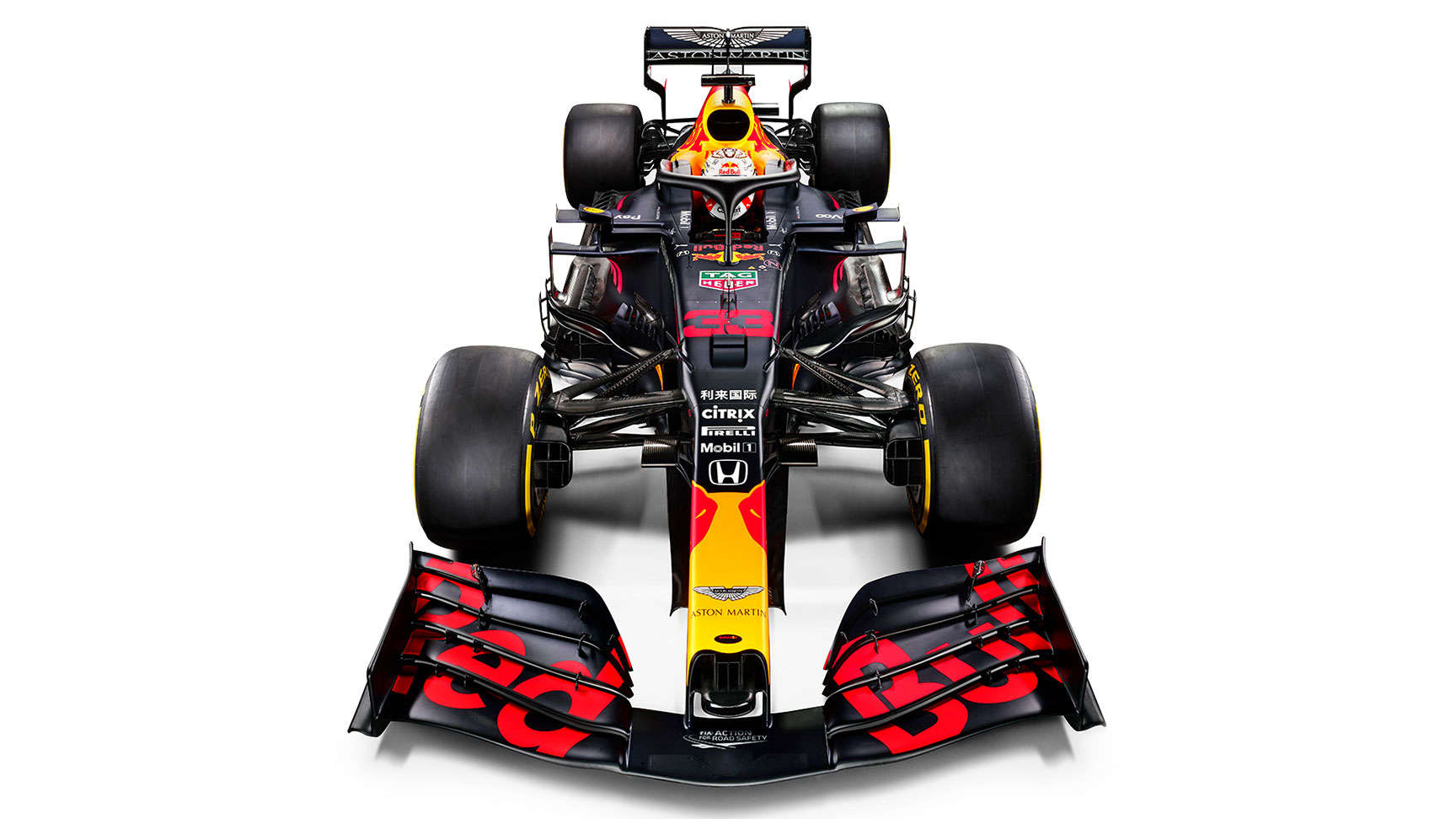 RB16 racing car