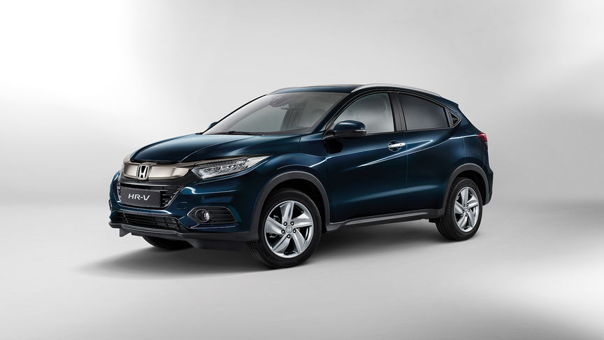 Side view of Honda HR-V.