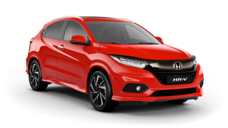 Front three-quarter facing Honda HR-V.