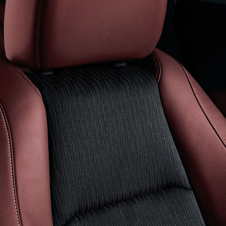 Close up of Honda HR-V Sport interior seats.