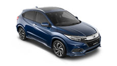 Honda HR-V blue.