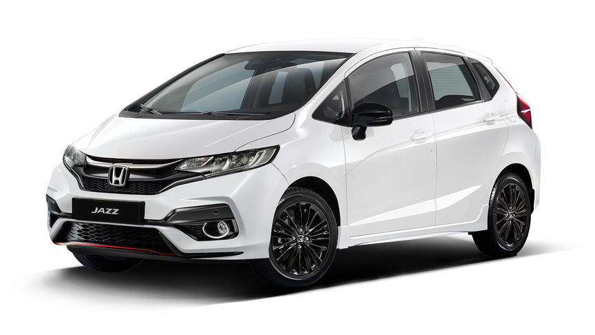 Front three-quarter facing Honda Jazz Dynamic.