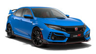 Front facing three quarter Honda Civic Type R
