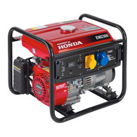 3/4 Studio photo of Honda EM2300 generator