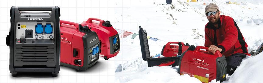 Masywnie Power Generators | Portable & Powerful Range | Honda UK WS57