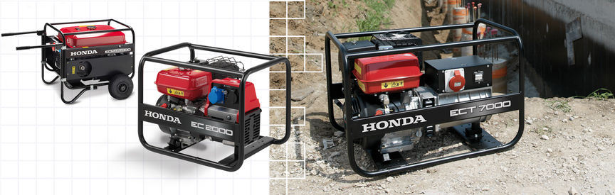 Power Generators | Portable & Powerful Range | Honda UK