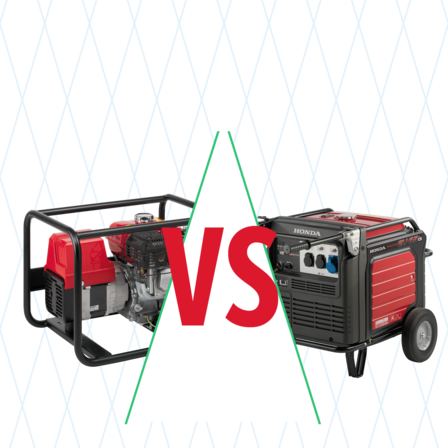 Generator compare illustration.