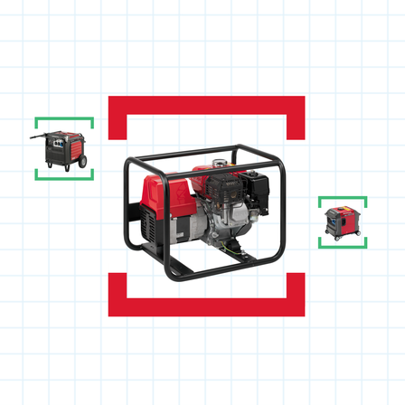 Generator help me choose illustration.