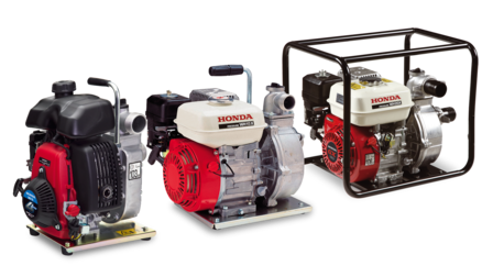 3x water pumps