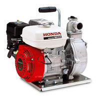 High pressure water pump.