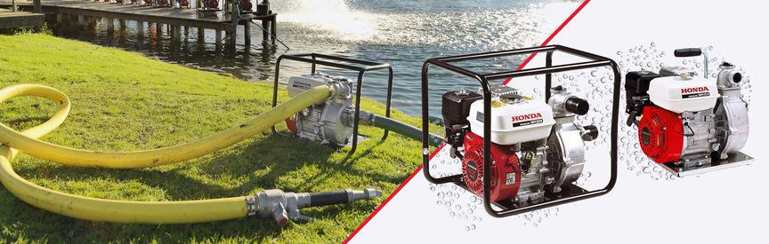 Industrial Water Pumps | Small & Large Models | Honda UK