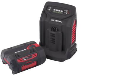 Cordless power tool battery and charger.