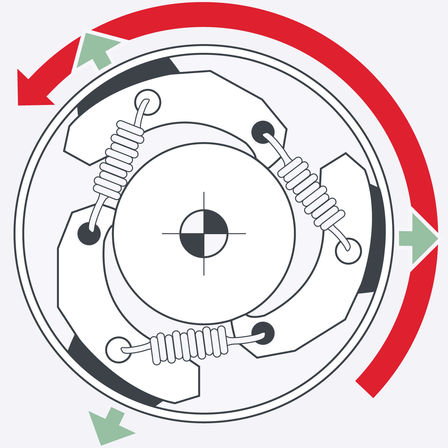 Honda Hedgetrimmers, engine diagram.
