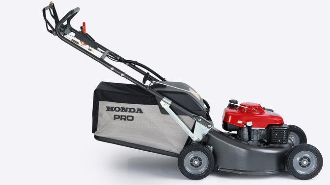 Hrh Self Propelled Petrol Lawnmowers Honda Uk