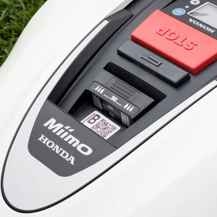Close up of Honda Miimo control panel.