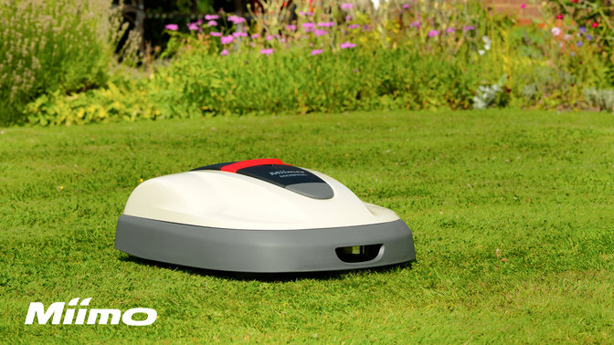 miimo robotic lawnmower cutter honda uk. Black Bedroom Furniture Sets. Home Design Ideas