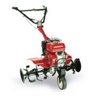 Front three-quarter compact tiller.
