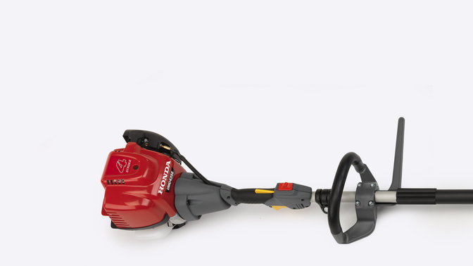 Honda Versatool focusing on D-loop handle.
