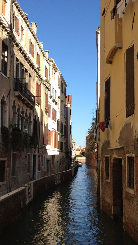 Back waters of Venice.