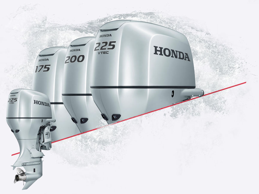 4x Honda Marine engines.