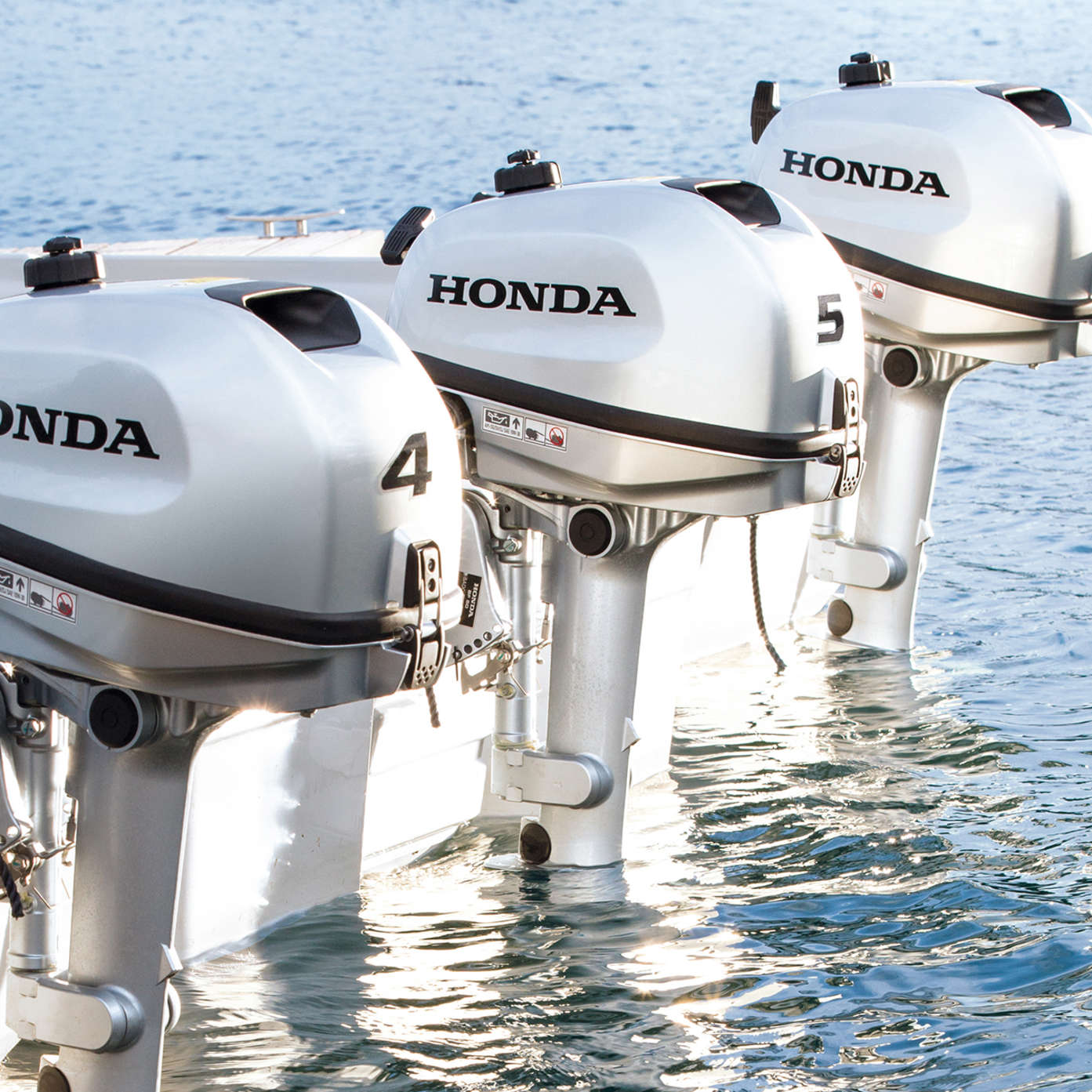 Compact, portable and easy to use, our new range of marine engines are  packed full of the very latest Honda innovation. So it's not just clever  engineering, ...