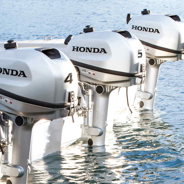BF4-6 Horsepower Outboard Engines | Honda UK