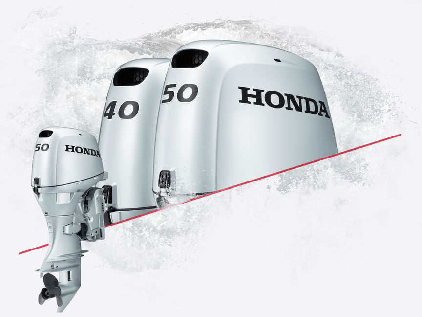 3x Honda Marine engines.