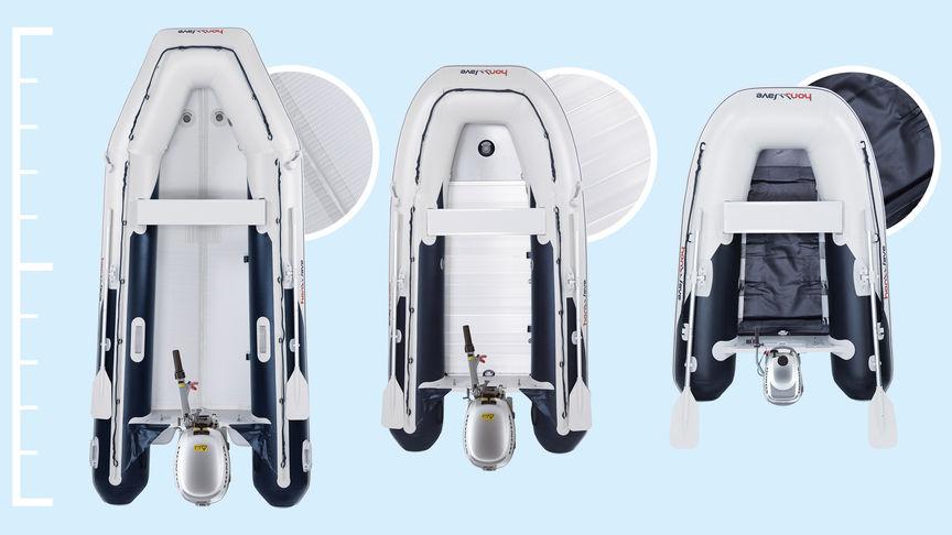 Inflatable Honwave   Portable Lightweight Boat   Honda UK