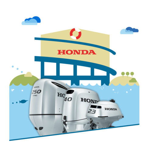 Honda outboard engines dealers for Outboard motor repair near me