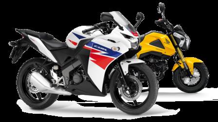 accessory brochures – my bike - motorcycles – honda