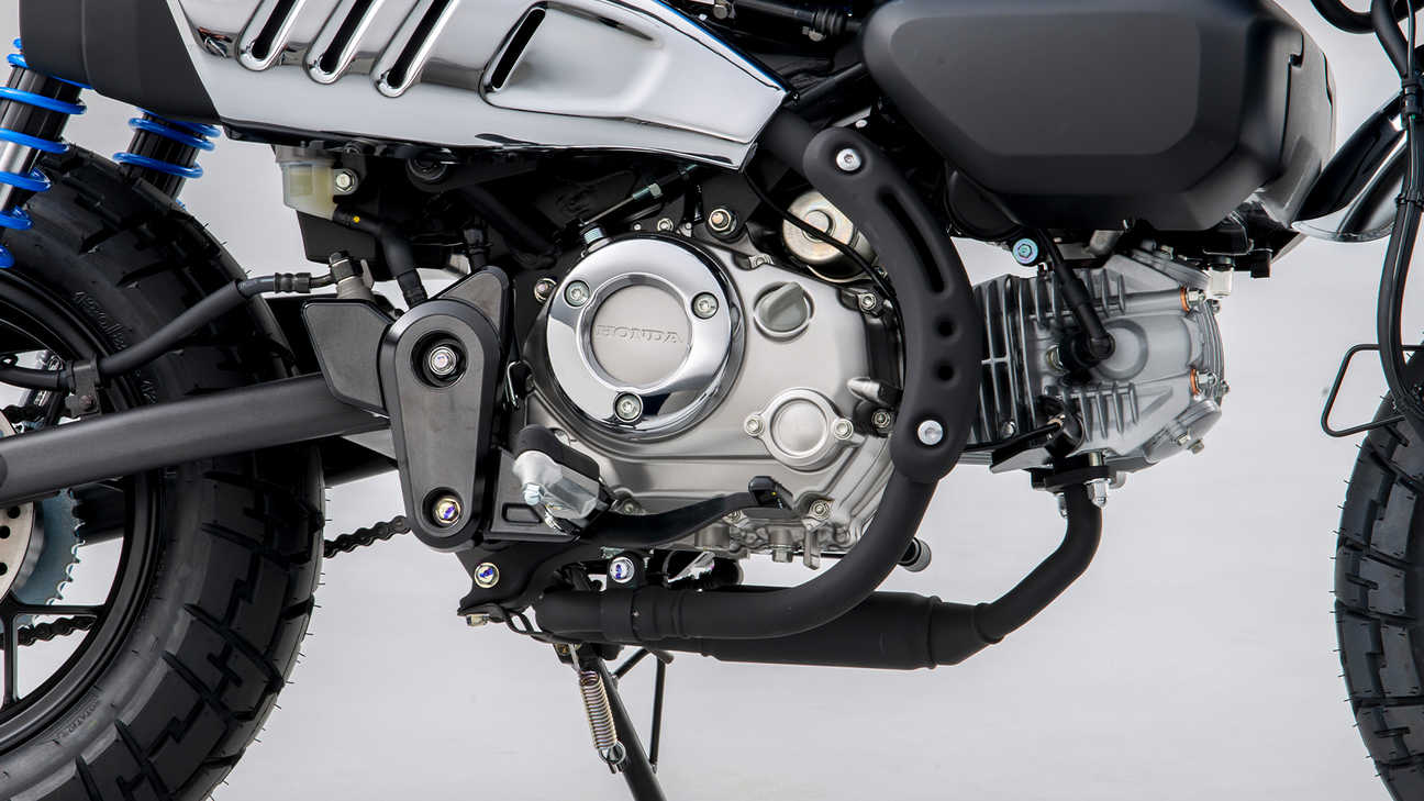 Honda - Monkey - Efficient new engine and 5-speed gearbox