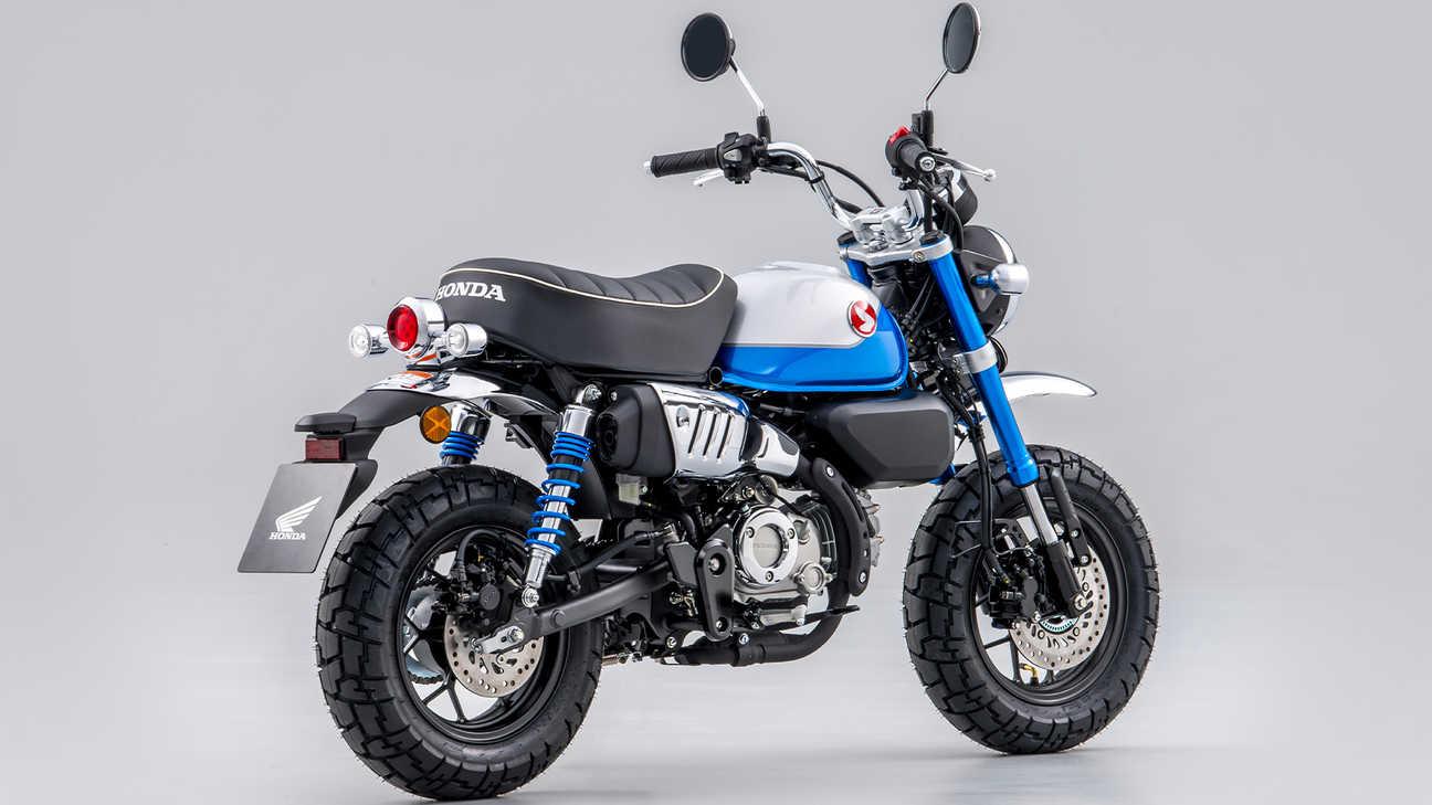 Honda - Monkey - Funky style, even funkier new colour
