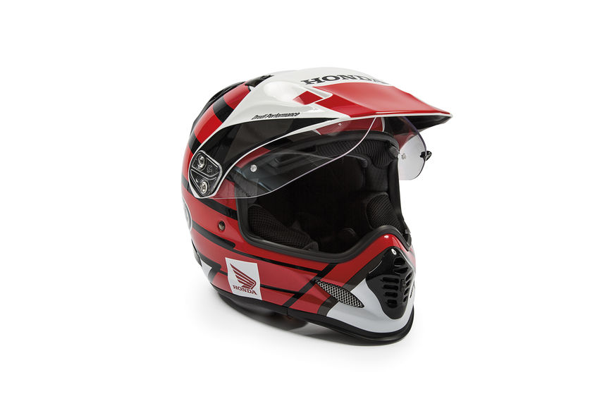 Honda Arai Tour-X4 Red Helmet