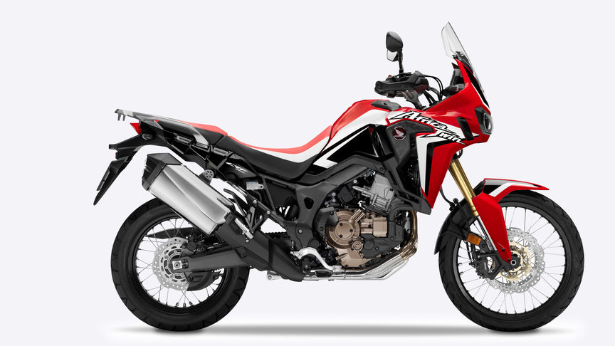 Africa Twin side shot