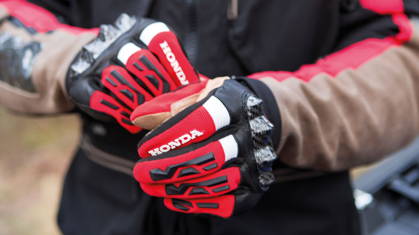 Honda motorcycle gloves