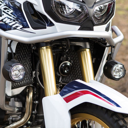 The front of the Honda Africa Twin
