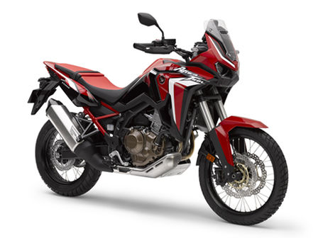 Honda Africa Twin, right side