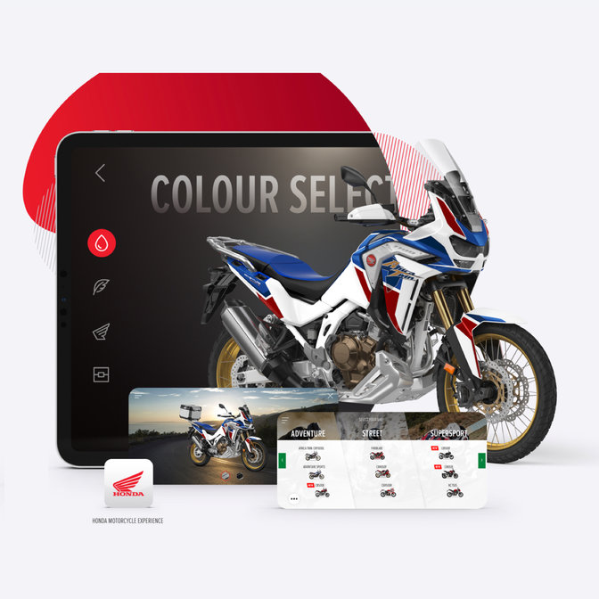 HONDA Africa Twin Adventure Sports application customize 3D