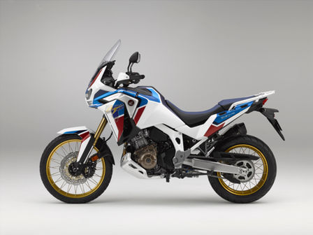 Honda Africa Twin Adventure Sports, left side
