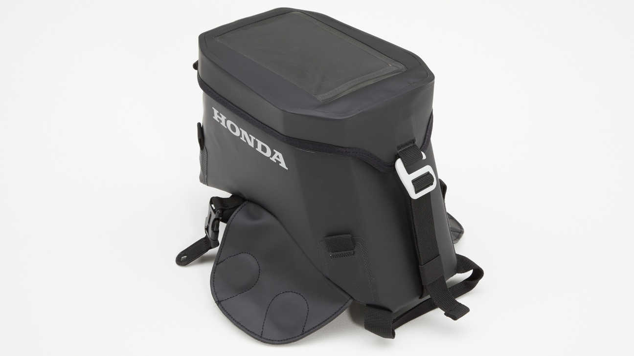 Honda Africa Twin Adventure Sports, zoom on tank bag